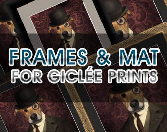 Mat Add-On For  Giclee Prints