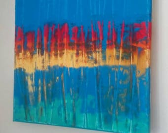 Untitled. Acrylic on canvas.