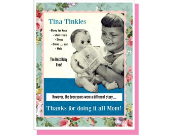 Tina Tinkles - Mother's Day/Funny Mother's Day