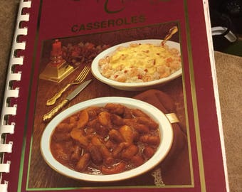 Company's Coming  Casseroles Cookbook by Jean Pare/ 36th Printing 1996