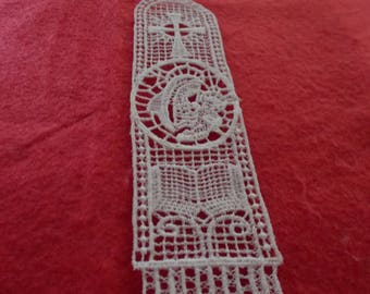 Bookmark of Belgian Lace