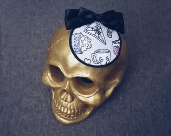 Horror Pinup Halloween Cosplay Fascinator From The Glamour Ghoul Gang [ VOIDEaD ]