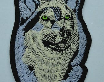 Wolf 2 fusible badge