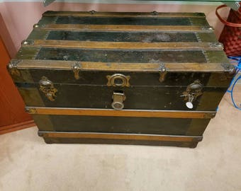 Italian Steamer Trunk 1920's - Local Pickup Only