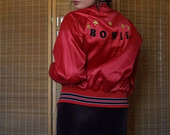Up-Cycled Bowie Bomber Jacket