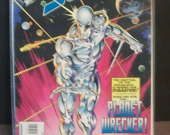 The Silver Surfer #104 (2nd Series)  Silver Surfer Going Mad   Very Fine Unread Vintage  1995 Comic Book Marvel Comics