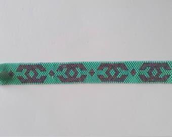 peyote stitch cuff miyuki beads