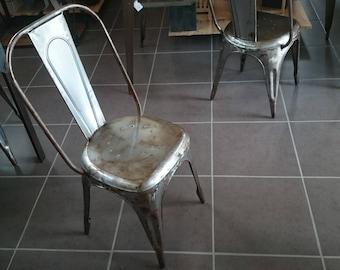 Old vintage industrial Chair