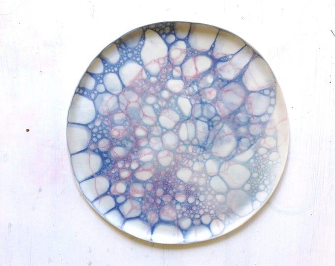 Featured listing image: Mermaid series multicolor plate