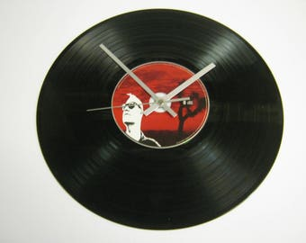 "Queens Of The Stone Age ""Songs For The Deaf"" Special Unique CD Record Wall Clock Gift - Lullabies To Paralyze Go With The Flow Little Sister"