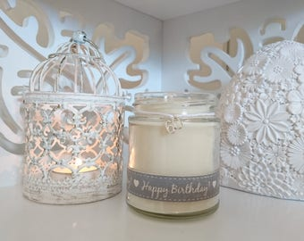 60 Happy Birthday Scented Jar Candle