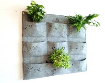 green wall planter indoor vertical planter 3x3 wall planter vertical garden planter
