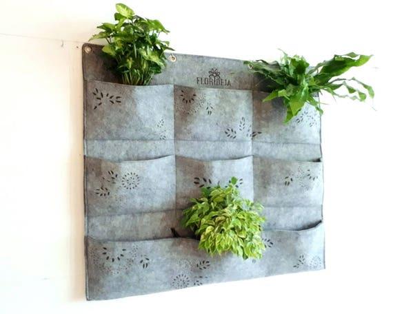 Green Wall Planter Indoor Vertical Planter 3x3 Wall Planter