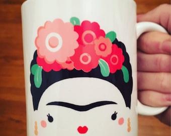 Frida Kahlo Inspired Mug