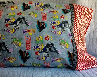 ZELDA PILLOW CASE for standard pillow case