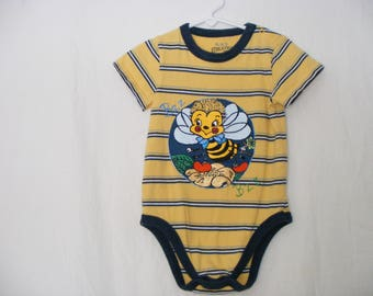 Bumble Bee Bodysuit Baby Grow Unisex Gift For Handpainted
