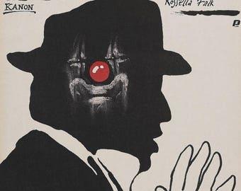 Summer Sale 8 1/2 Movie Poster Federico Fellini Czech Polish Rare Art