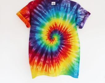 Bahama Nights Tie Dye Rainbow Swirl T-shirt