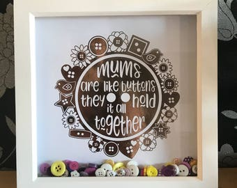 Mums are like buttons frame