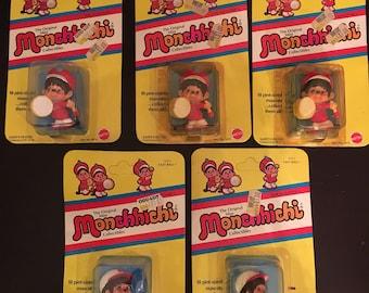 PICK YOUR OWN Vintage 1981 Monchhichi Mini Figurine Collectibles