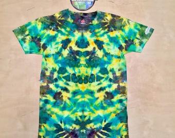Small Kaleidoscopic Apparel Mushroom tie dye shirt