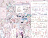 PASTELISTA Aufkleber KIT Planer tn Pastell Manga Kunst glücklich Planer Reisende Notebook Midori Japan Kawaii Kit-set