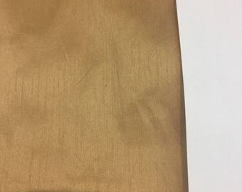 Beige Shantung Faux Silk Polyester Drapery Fabric  by the yard 40 colors