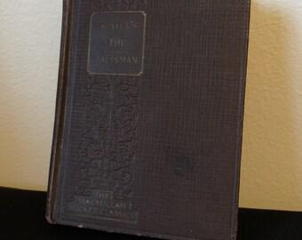 Scott's The Talisman, A Romance, Collectible Antique Book, 1925, Sir Walter Scott, Rare Antique Book