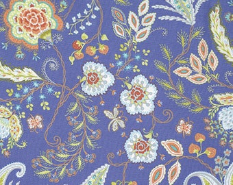 1/2 yd Sundara Oasis Vinithia by Dena Designs for FreeSpirit Fabrics PWDF216.ORCHI