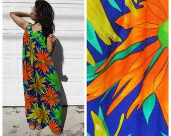 Daisy Psychedelic Maxi Dress