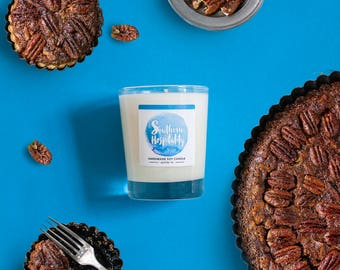 Pecan Pie Soy Candle 8 oz Jar - Southern Hospitality