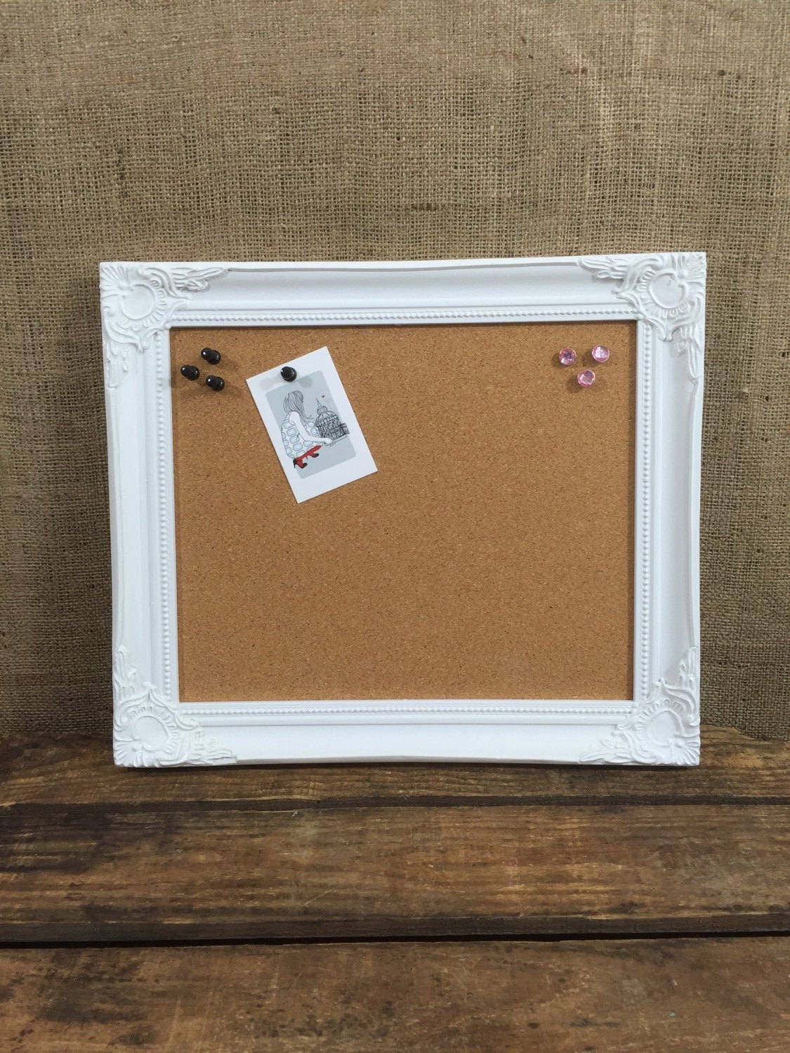 gallery photo gallery photo - White Framed Cork Board