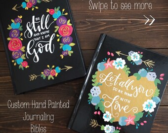 Choose Your Quote Journaling Bible