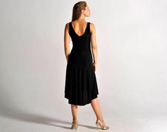 CARLA black tango dress, XS-M