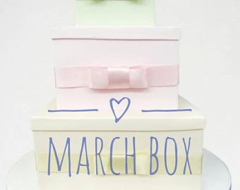 March Easter Box, 30 dollar value, Mothers day, New, Exciting, kids, Toddlers, Men, Women, Preorder Box for March 15th