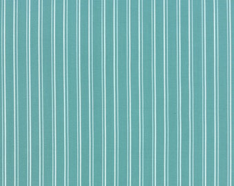 Moda KINDRED SPIRITS Quilt Fabric 1/2 Yard By Bunny Hill Designs - Teal 2894 18