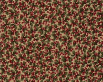 Moda GOOSEBERRY LANE Quilt Fabric 1/2 Yard By Kansas Troubles Quilters - Tan 9541 11