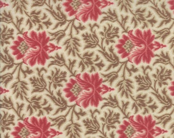 Moda JOSEPHINE Quilt Fabric 1/2 Yard By French General - Pearl 13653 16