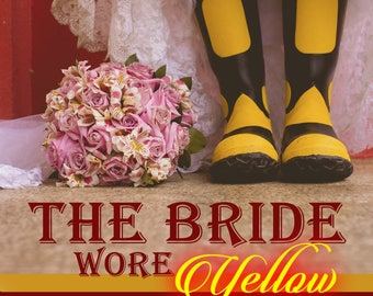 premade book covers the bride wore yellow