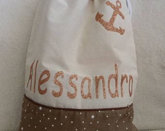 Personalized kids cotton