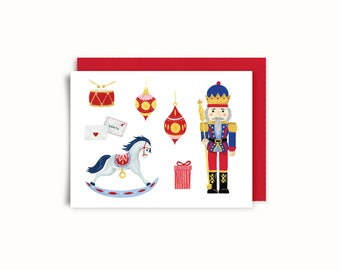 Greeting card - little Prince Nutcracker