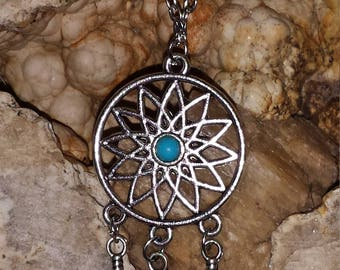 Haunted  Lunar Angel Dream Catcher pendant/necklace A-7( not a doll)