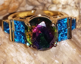 Haunted Rainbow Guardian Angel Ring (not vampire/doll) A-15