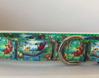 Lion King 1 inch Dog Collar