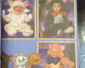 Walt Disney Aristocats Costumes for Toddlers Simplicity sewing pattern