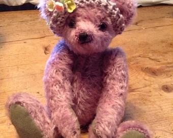 "Evie, a 9"" hand made collector's bear"