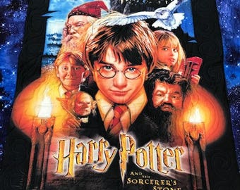 """Harry Potter and the Sorcerer's Stone 56 1/2"""" x 64"""""""