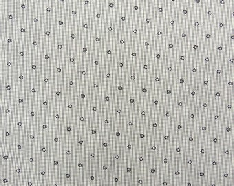 """Dressmaking Fabric, Floral Print, White Fabric, Sewing Crafts, Designer Fabric, 42"""" Inch Cotton Fabric By The Yard ZBC9161A"""