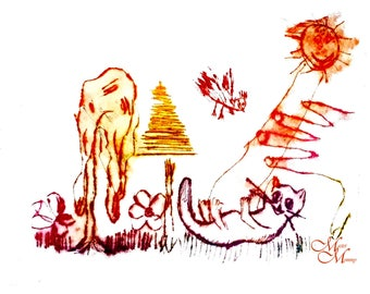 Cat art for children art for girls room decor new baby gift|for|Baby's birthday gift wall art for nursery nursery decor art for kids room