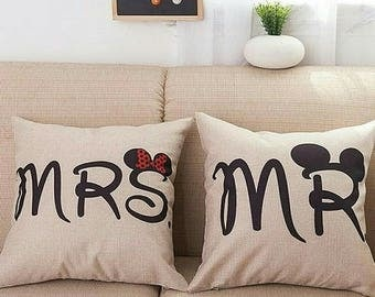 Pillow Case Mr. and Mrs